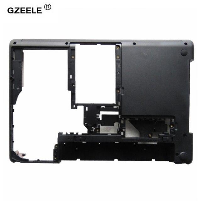 """Gzeele 新しいレノボ thinkpad エッジ E430 E430C E435 E445 04W4156 04W4160 14.0 """"d ケース下部ケースカバー"""