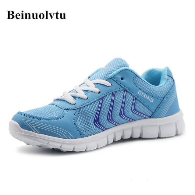 Лидер продаж стильные Бег обувь для Женские кроссовки дышащая Спортивная обувь Обувь для девочек легкие кроссовки спортивные кроссовки 36-41