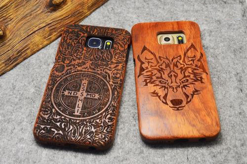 100% Natural Wooden Phone Case For Samusng GALAXY Genuine Real Wood Cover For Samsung S8 S9 + S10 Plus Note8 9 Note10 +