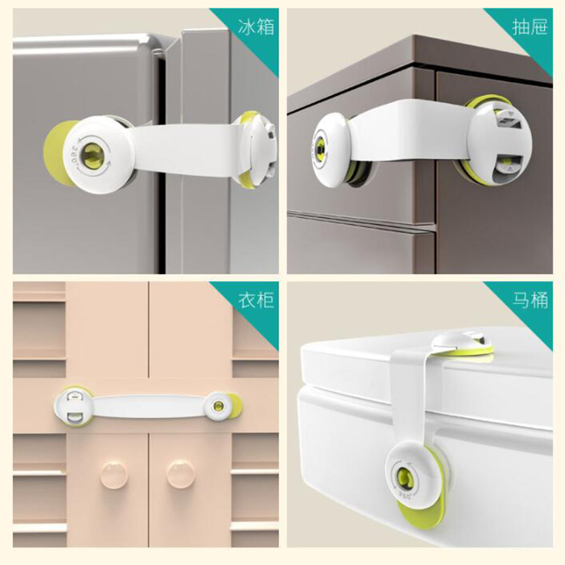 Baby Safety Kids Door Lock Refrigerator Cabinet Magnetic Child Lock Baby Safety Newborn Care Child Finger Protector-10