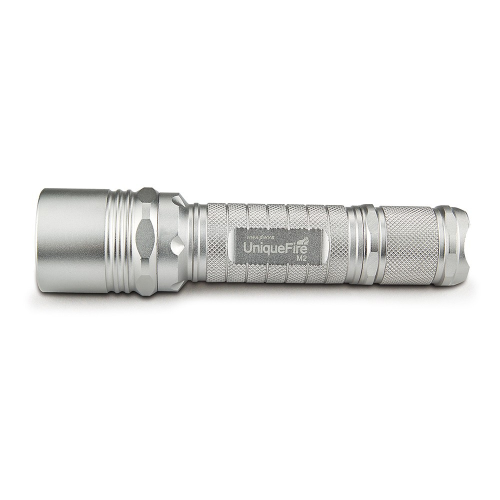UniqueFire M2 Cree XM-L2 Led Flashlight 1200 Lumens 10W White Light Rechargeble Torch For Self-defense, Camp, Outing, Sport