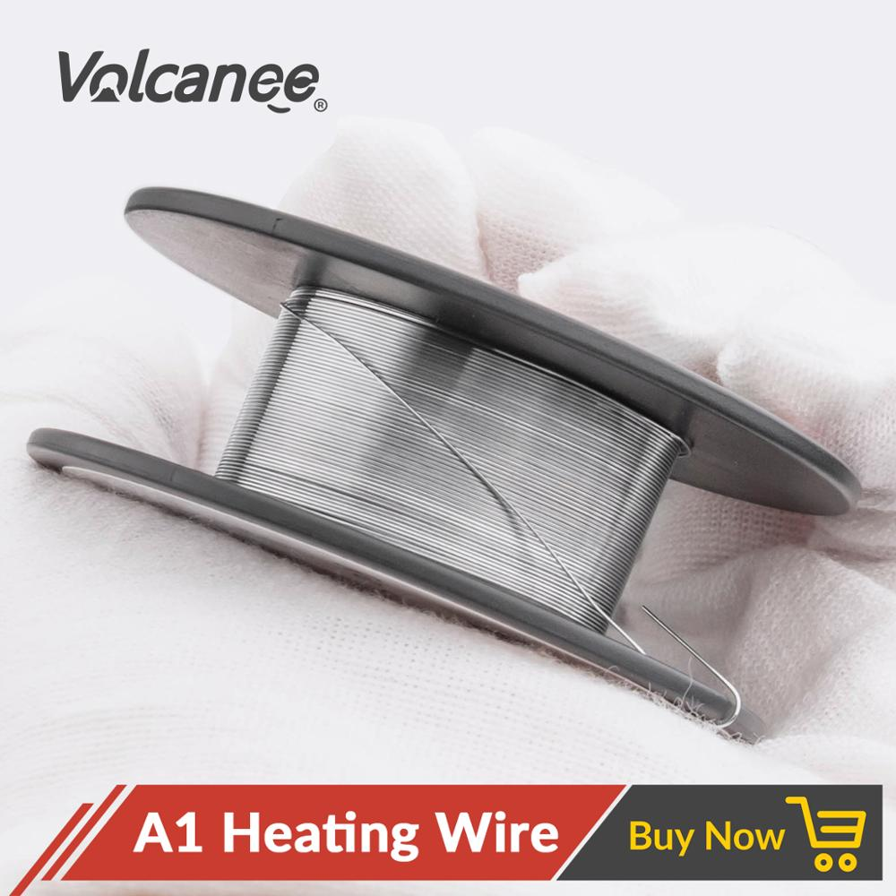 Volcanee 30feet/roll Heating Coil Wire A1 Material Resistance Vape Mod Electronic Cigarette Wire Vs Alien Clapton Wire Ni80 Wire