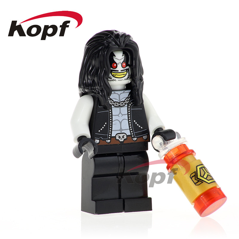 Single Sale Lobo Super Heroes Lex Luthor Cheetah Firestorm Reverse-Flash Bricks Model Building Blocks Children Toys Gift XH 755 single sale building blocks super heroes bob ross american painter the joy of painting bricks education toys children gift kf982