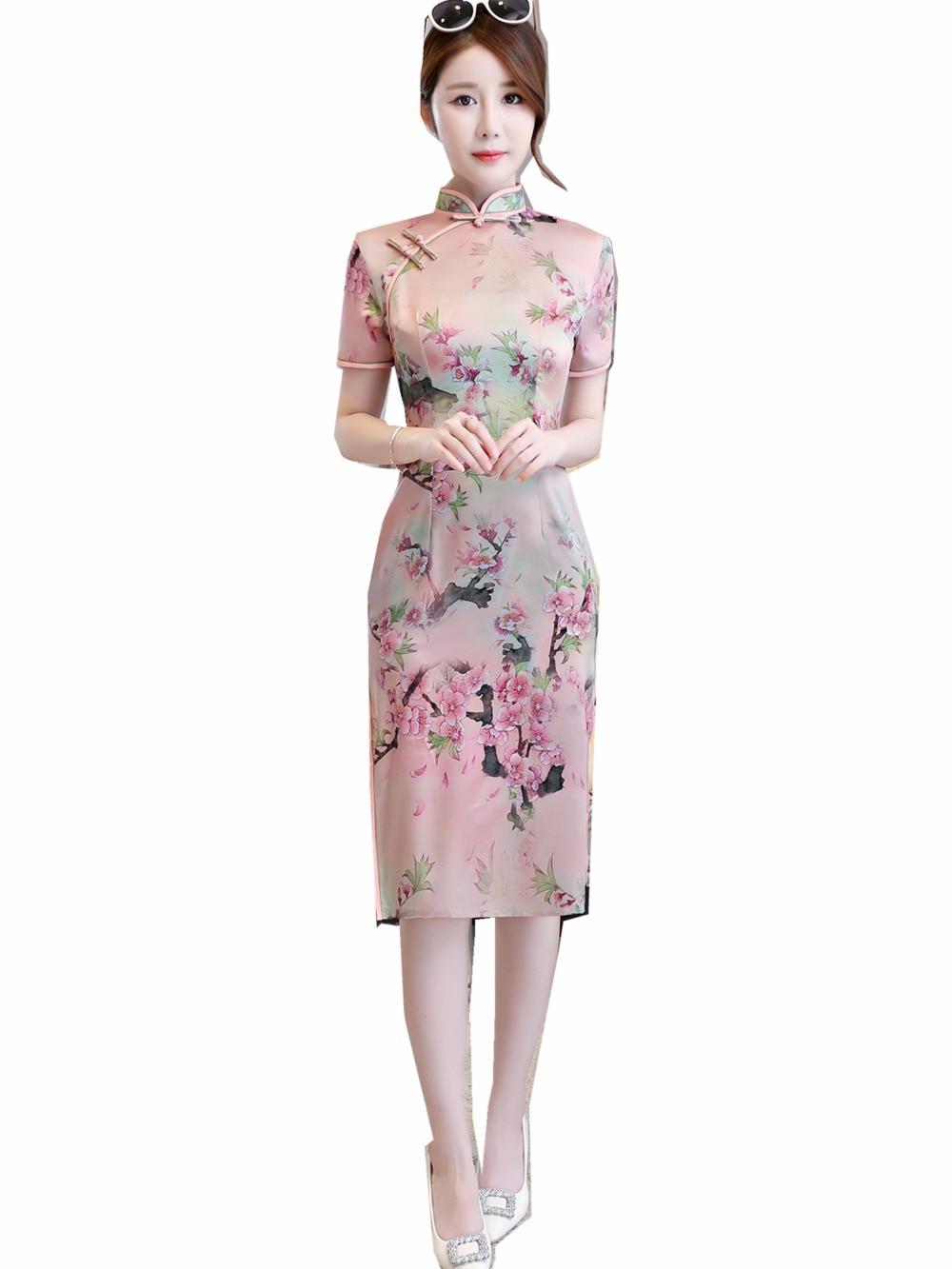 Платья китайские картинки