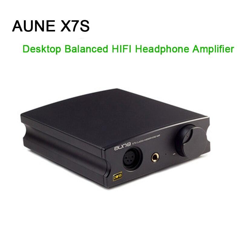 AUNE X7S Desktop Balanced Headphone Amplifier Big Thrust HD650 HIFI Headphone Amp Audio in Headphone Amplifier from Consumer Electronics