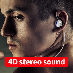 Image 5 - Genuine QKZ CK9 Earphones Dual Driver With Mic gaming headset mp3 DJ Field Headset audifonos fone de ouvido sem fio auriculares