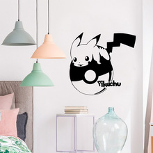 Hot Pikachu Home Decoration Accessories Decor Living Room Bedroom Removable
