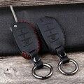 Chiave dell'automobile di Cuoio Della Copertura di Caso per Hyundai Tucson Creta IX25 Ix35 I10 I20 I30 HB20 Sonata Verna Solaris Santa Elantra mistra