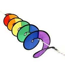 Радуга Спиннер красочный флаг садовый декор-Открытый Кемпинг вертушка украшения