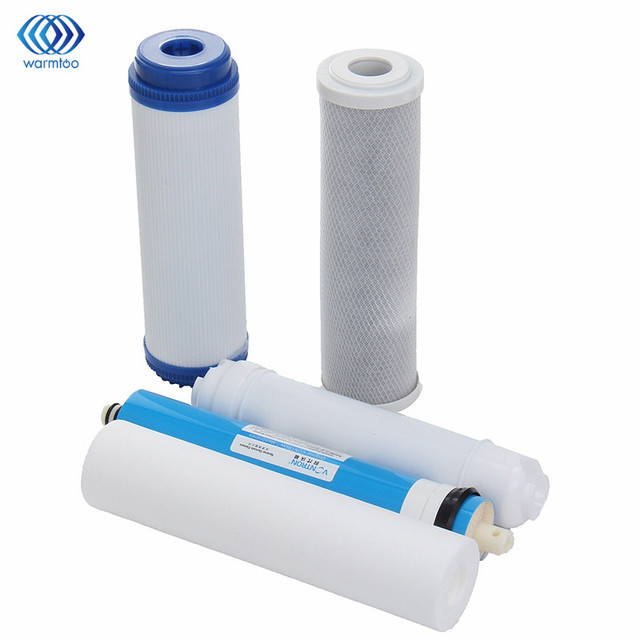 5pcs 5 stage ro reverse osmosis filter water purifier equipment