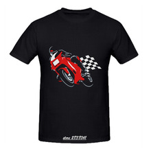 RTTMALL Cotton Men t-shirts Summer Style Plus Size O Neck Ducati Supersport Classic Male Tshirt His and Hers Motorcycle Team Top