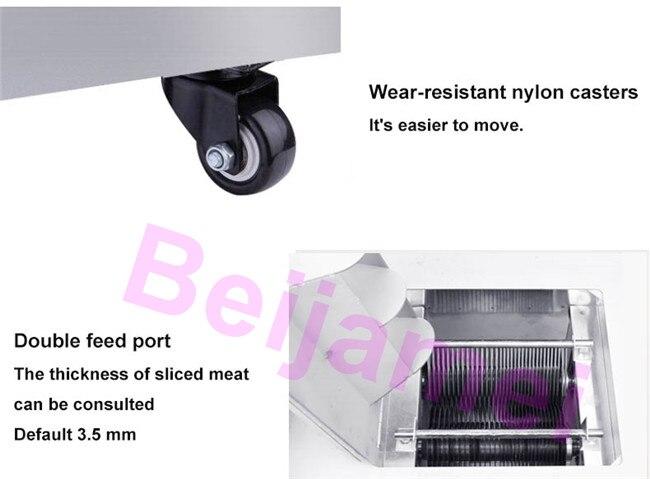meat slicer details 2