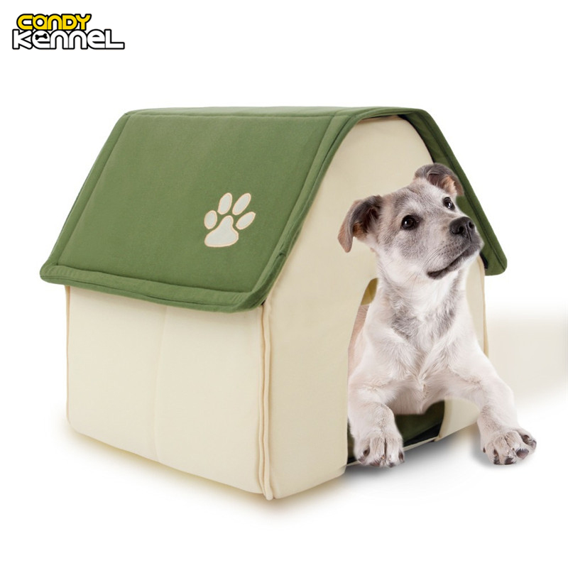 DULCES Forma Perro Perrera Cama Para Mascotas PERRERA Casa Suave casa Para Perro