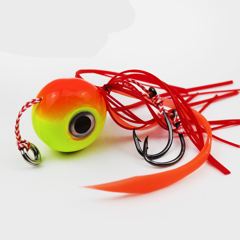 ANZHENJI 80G Fishing Lure Metal Jig Head Jigging Squid Lure Saltwater Fishing Bait Peche size a k cup 1000g pair realistic silicone breast forms fake boobs for crossdresser with shoulder strap