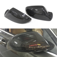 For Audi A6 S6 2012 2013 2014 2015 2016 Carbon Fiber Mirror Covers Rear View Without