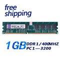 Бесплатная Доставка!!! новый 1 ГБ DDR 400 ШТ. 3200 400 МГц desktop 184PIN Non-ECC низкой плотности работа со всеми платы