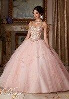 2019 Cheap Hot Pink Blue Quinceanera Dresses Ball Gown Organza Crystals Beaded Ruffles Sweet 16 Dressess Vestido De 15 Anos