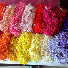12mm Pompon Ball Trims Ribbon DIY Sewing Accessory Lace for curtains 2y/lot(China)