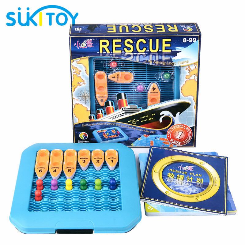 Maze Toys Rescue 48 challenge and solution Play Game With Kids Educational Soft Montessori children intelligent creative toys wooden classic fishing toy game with family kids gift educational soft montessori children intelligent creative interactive toys