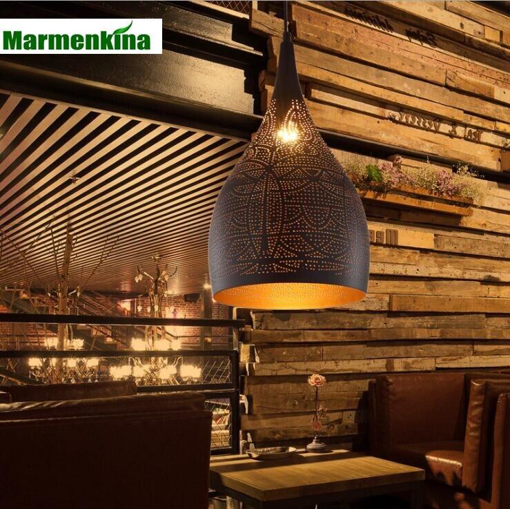 Creative iron hollow carved pendant lamp living room bedroom cafe lights.E27,AC:110-240V.Creative iron hollow carved pendant lamp living room bedroom cafe lights.E27,AC:110-240V.