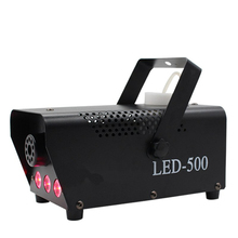 Led 500W Afstandsbediening Rookmachine Mini Rood Blauw Groen Gemengde Kleur Fog Machine Voor Auto Disco Bar Stage prestaties Tonen