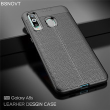For Samsung Galaxy A8s Case Soft Silicone Leather Anti-knock Phone Cover BSNOVT