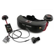 Alta Calidad Fat Shark Fatshark Teletransportador V5 5.8G Transmisor FPV Gafas de Vídeo Gafas con Cámara