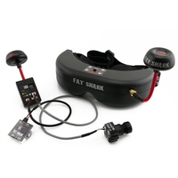 High Quality Fatshark Fat Shark Teleporter V5 5 8G FPV Goggles Video Glasses With Camera Transmitter