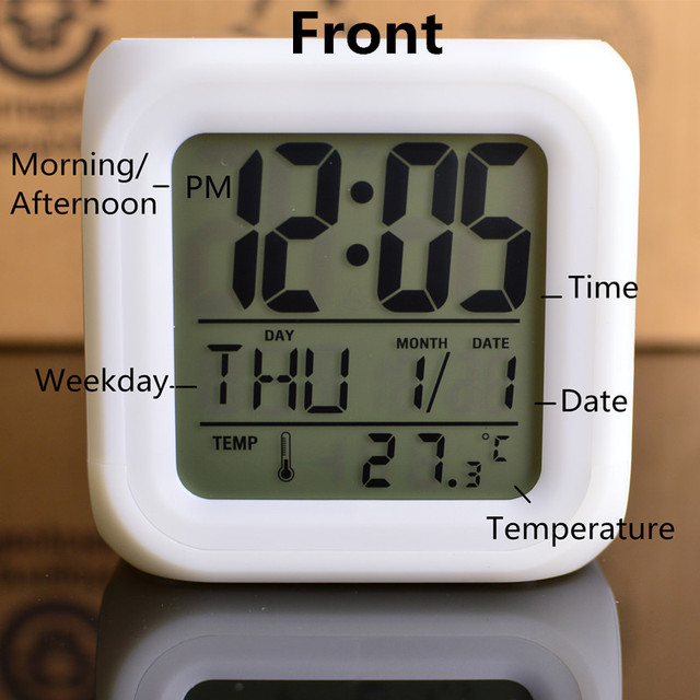 Transformers Led lights Digital Alarm Clock