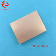 Плакированный медью ламинат двухсторонняя пластина CCL 20x30 см 1,5 мм FR4 универсальная доска практика PCB DIY Kit 200*300*1,5 мм