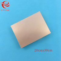 Copper Clad Laminate Double Side Plate CCL 10x15cm 1 5mm FR4 Universal Board Practice PCB DIY