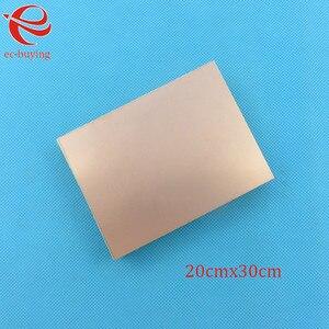 Cobre Revestido de Laminado CCL Placa Dupla Face 20x30 cm 1.5mm FR4 Placa Universal Prática PCB DIY Kit 200*300*1.5mm