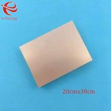 Revestido de cobre laminado doble lado placa CCL 20x30cm 1,5mm FR4 placa Universal práctica PCB bricolaje Kit de 200*300*1,5mm