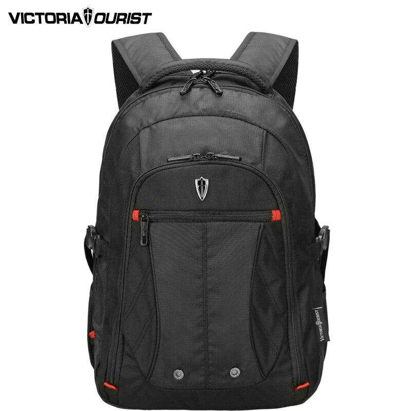 VICTORIATOURIST fashion  backpack men/men 15.6 inch laptop backpack /ballistic nylon backpack/business backpack/V6024 black playeagle men