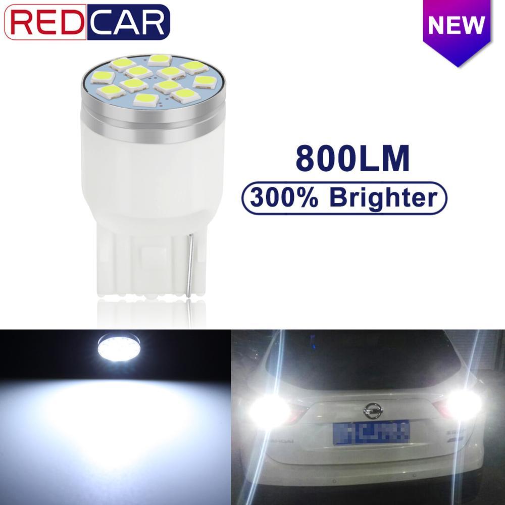 1pcs T20 LED 7443 7440 W21/5W W21W LED Bulbs WY21W 800LM Car Signal Lamp Auto Lamp Brake Lights DRL 12V 6000K White Yellow Red