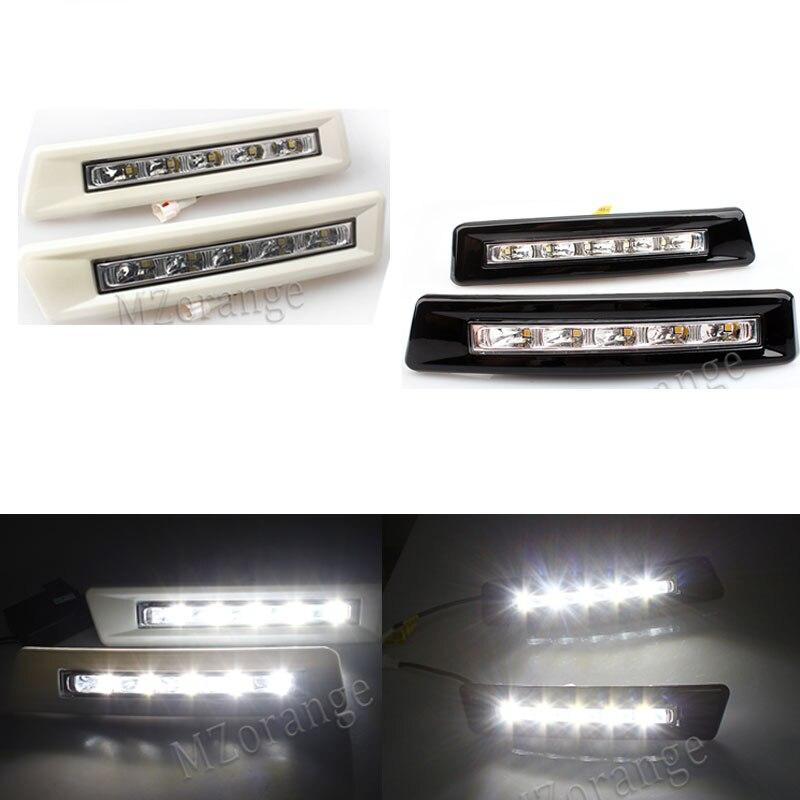 MZORANGE Daytime Running Light Day Light For Toyota Prado FJ150 LC150 2010 2011 2012 2013 For