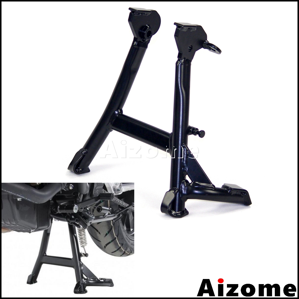 Black Motorcycle Centerstand Center Parking Stand For Honda <font><b>CB500X</b></font> CB500XA <font><b>2013</b></font> 2014 2015 2016 2017 2018 image