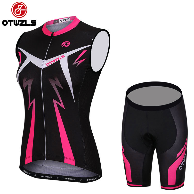 2018 cycling set women summer sleeveless cycling jersey and shorts MTB mountain bike bicycle clothing cycle wear outdoor sports triathlon fitness women sports wear shorts kit sets cycling jersey mountain bike clothing for spring jersey padded short page 9