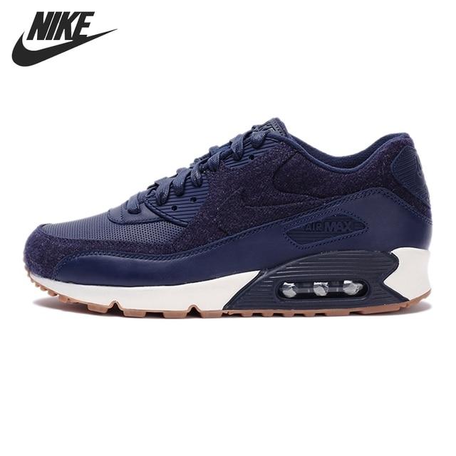 Original Nike Air Max 90 Premium zapatos corrientes de los hombres zapatillas