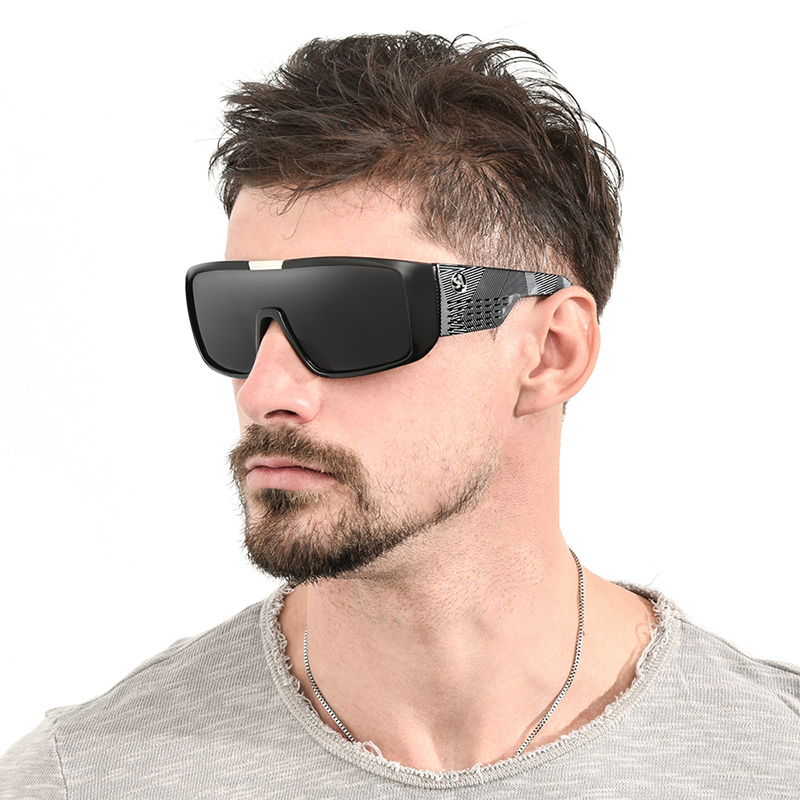 Large Oversized Wind-Proof Goggles Outdoor Sport Cycling Bike Riding Sunglasses Flash Coating Mirrored Hunting Fishing Goggles