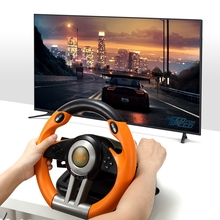 New Arriavl PXN V3II USB Vibration Dual Motor Racing Games Steering Wheel Gamepad Controller