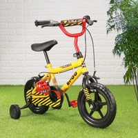 12 Yellow Kid S Bike Cycling Child Bicycle For Age 20 Month To 4 Years Old