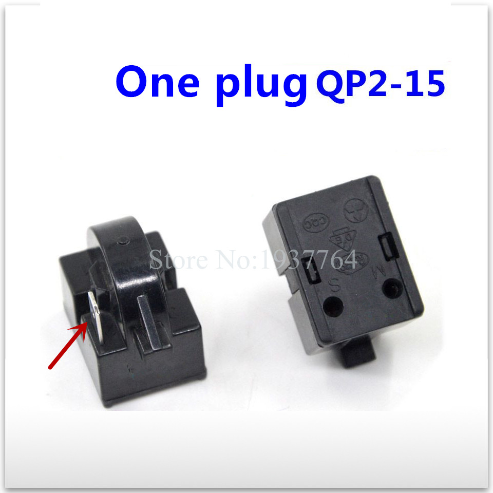 1pcs NEW refrigerator 0064000321 starter One plug QP2-15