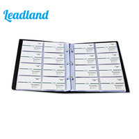 240 Cards Large Capacity PU Leather Business Card Holder Card Collection Book 1493