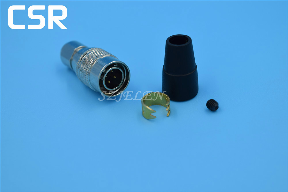 Hirose Connector 4 pin plug, HR10A-7P-4P, Topcon data cable connector plug 4 pin, Red camera cable connector 4 pin plug connector hr10a 7p 5s 73