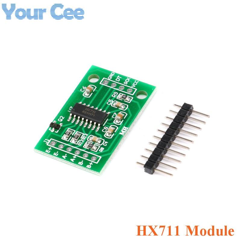 Тензодатчик 1 кг 5 кг 10 кг 20 кг HX711 AD модуль датчик веса электронные весы алюминиевый сплав взвешивания датчик давления - Цвет: HX711 AD Module