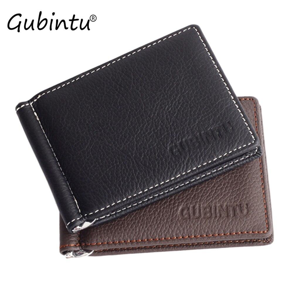 GUBINTU Men Leather wallets