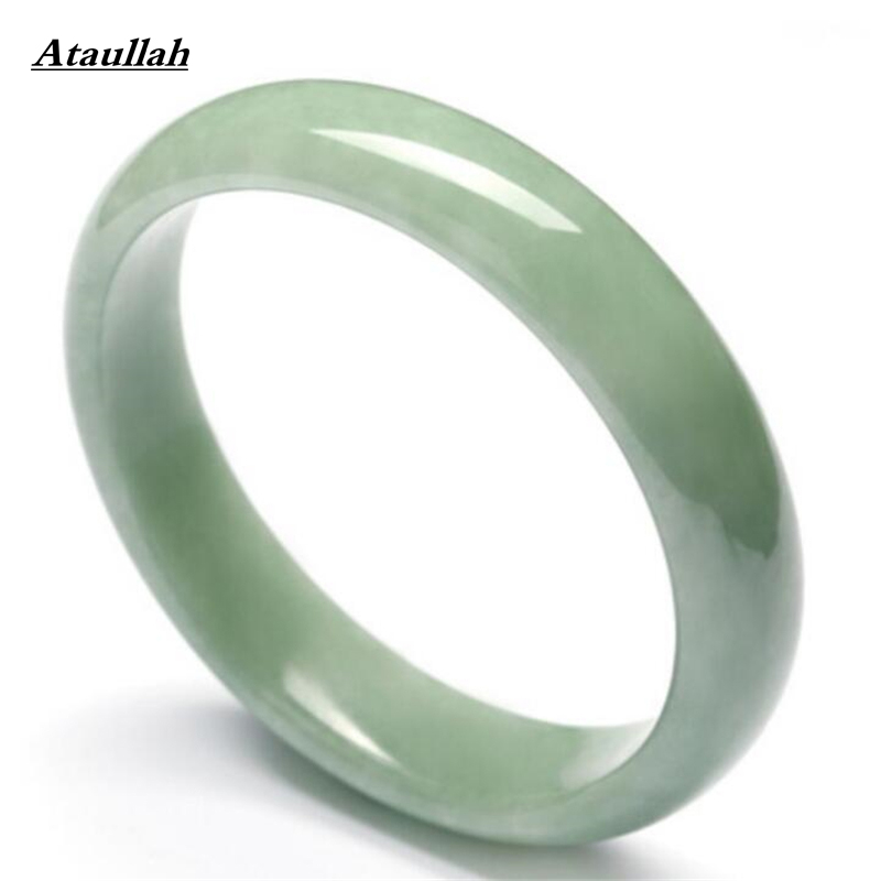 Ataullah Women Bangles Wholesale High Quality Stone Natural Jade Bracelets & Cuff for Women Engagement Fine Jewelry BSW451