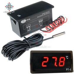 Diymore DC 12 V/AC 220V Alle-Zweck Test LED Digitale Temperatur Meter Display Thermometer Aquarium mit NTC Sensor Sonde