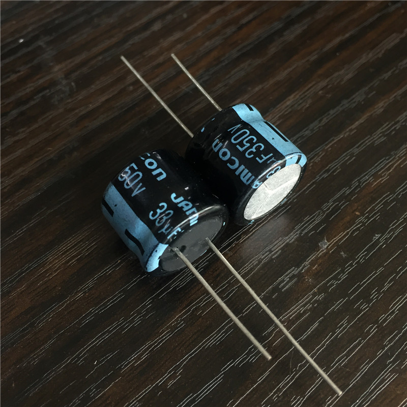 5pcs 33uF 350V JAMICON TK Series 18x16mm High Quality Low Profile 350V33uF Aluminum Electrolytic Capacitor
